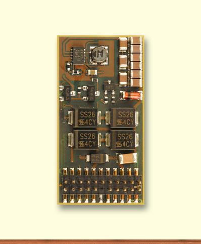Decoder SD22A-4, PluX22