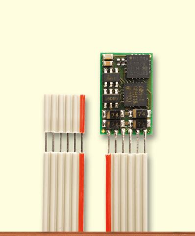 Decoder DH10C-1 mit Kabel, NEM 651