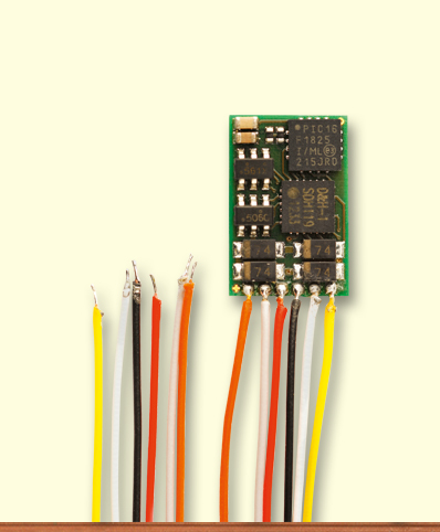Decoder DH10C-3 mit Litze, NEM 651