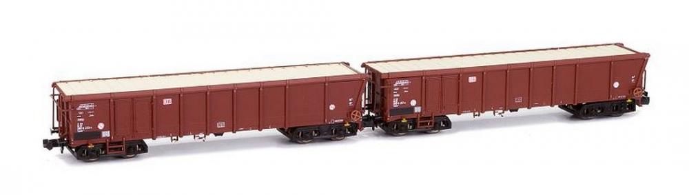 Offene Güterwagenset (2) - DB AG