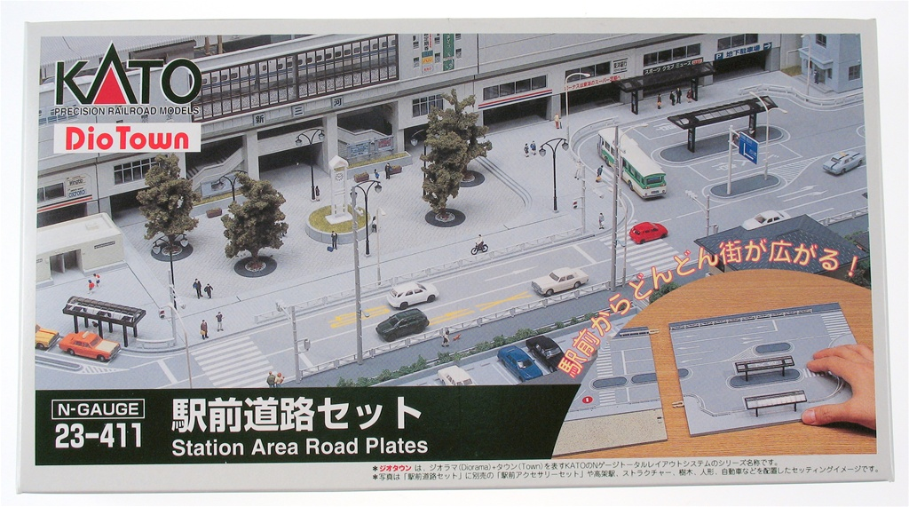 Station Area Road Plates Set
