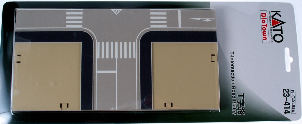 T-Intersection Road Plate