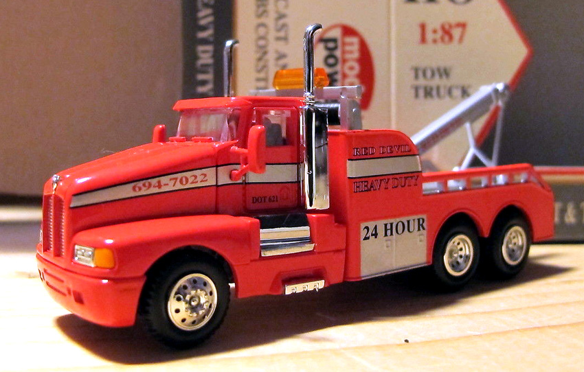 Tow Truck Red Devil