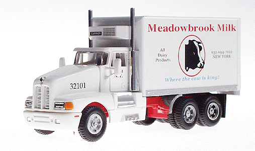 Delivery Truck Meadowbrook Milk