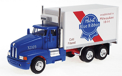 Delivery Truck Pabst Blue Ribbon