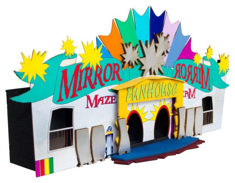 Mirror Maze Fun House Kit