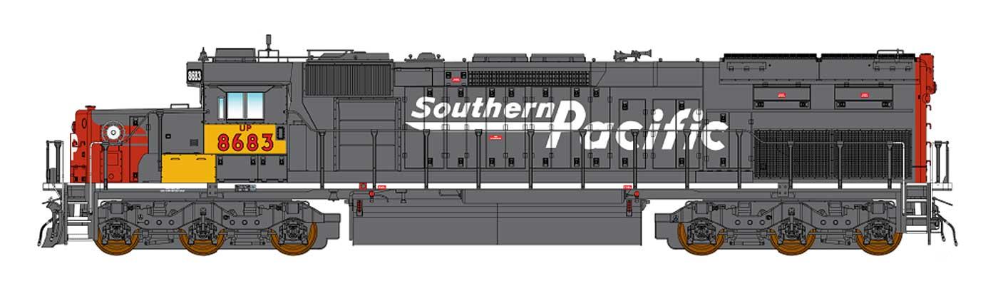 Union Pacific (SP patch)