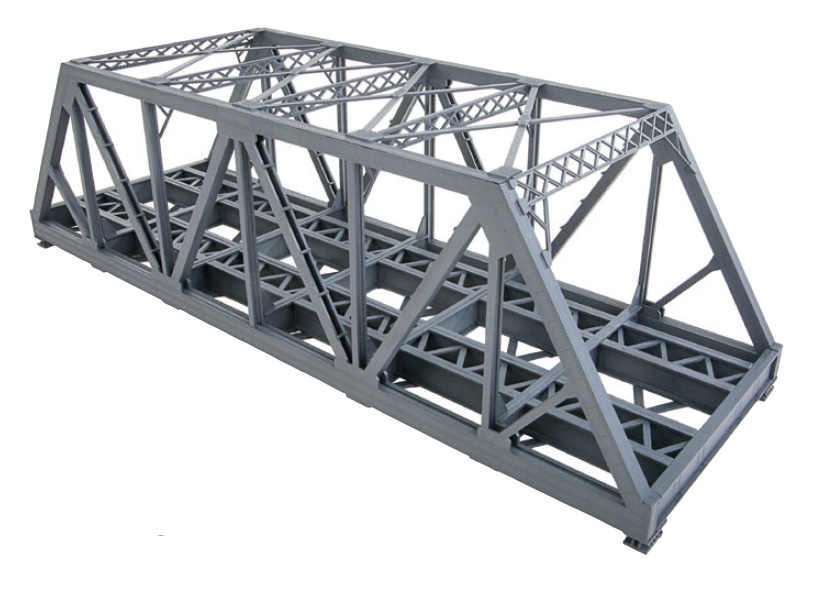 Modernized Double-Track Truss Bridge
