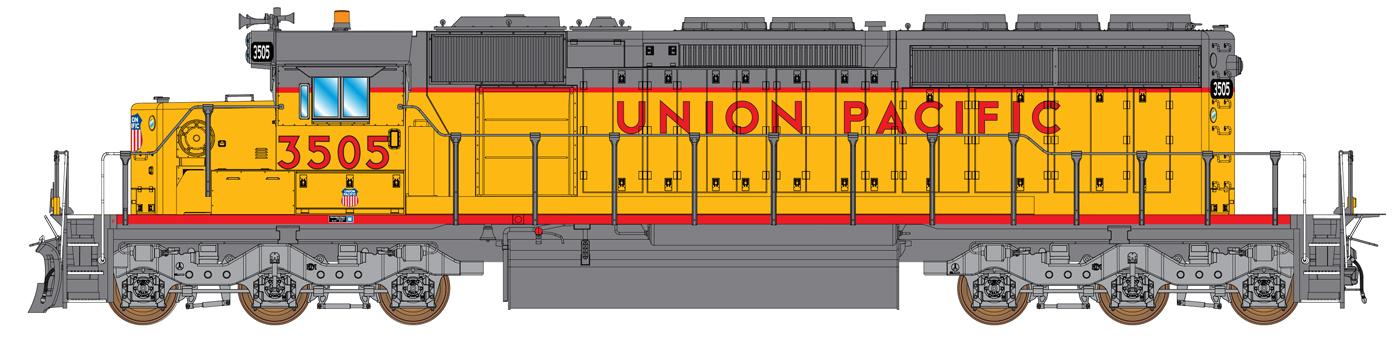 Union Pacific (1980s - 1990s)