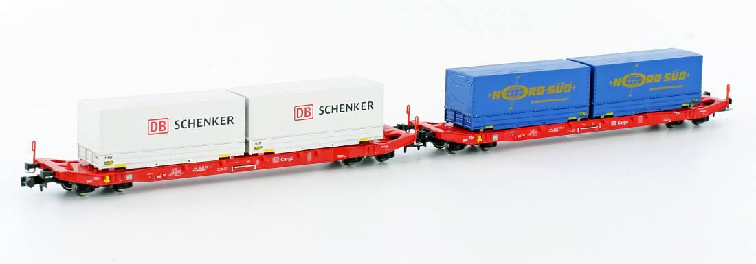 Containertragwagen - DB Cargo