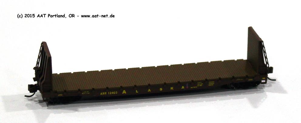 53' Bulkhead Flatcar N