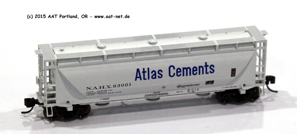 Atlas Cements / NAHX