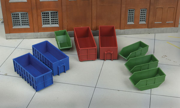 Industrial Dumpsters (Kit)