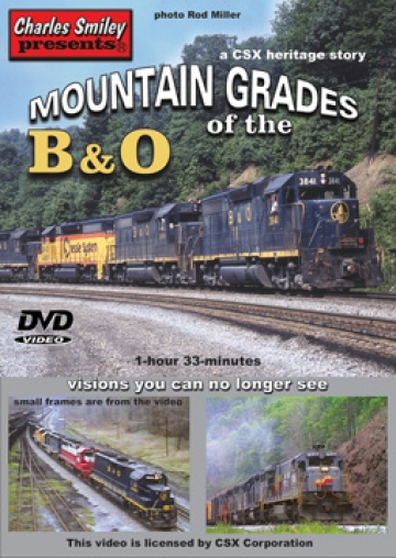 Mountain Grades of the B&O