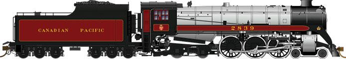 Canadian Pacific (H1c, coal tender)