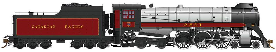 Canadian Pacific (H1d, coal tender)