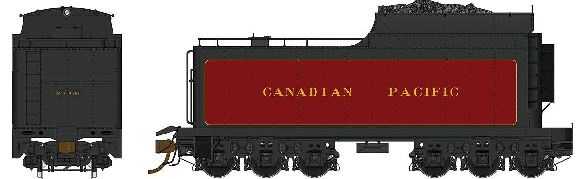 Canadian Pacific (Coal, Buckeye Trucks)