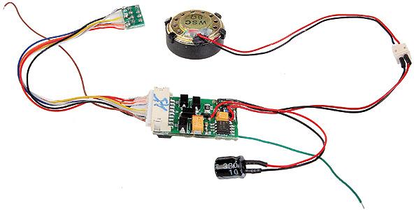 Universal DCC & Sound Decoder