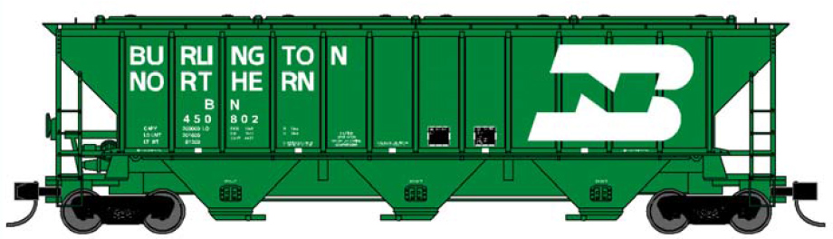 Burlington Northern (large lettering)