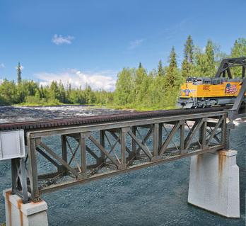 109´ Single Track Pratt Deck Truss Bridge