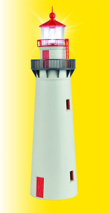 Leuchtturm mit LED-Leuchtfeuer
