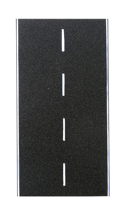 Straßenplatte Asphalt, X-Kreuzung