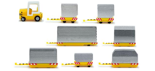 Container-Fahrzeuge