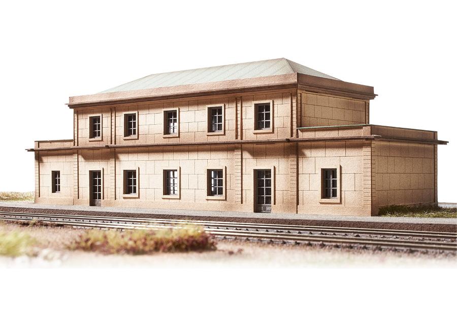 Bahnhof Gare Auvers sur Oise