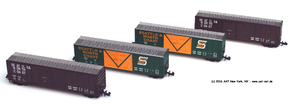 Freight Car Sets N