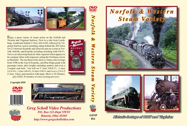 Norfolk & Western Steam Variety