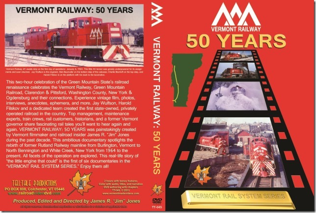 Vermont Railway 50 Years