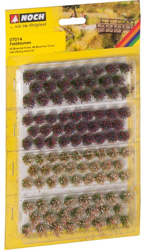 Grasbüschel Wildblumen (98 Stück)