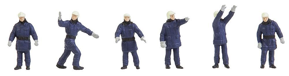 Moderne Feuerwehrleute