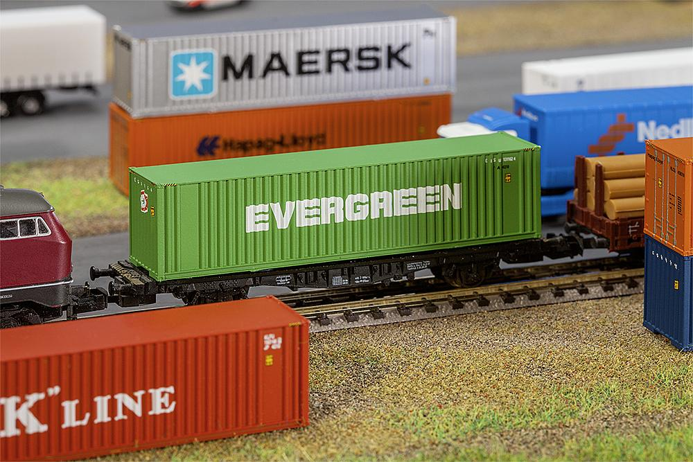 40´ Container - Evergreen