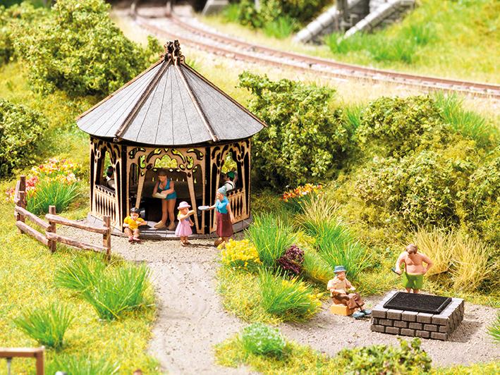 Themen-Set Grillhütte
