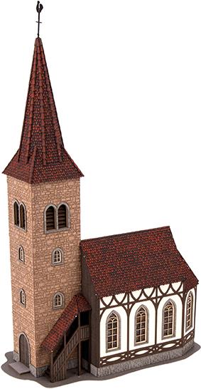 Kirche St.Georg mit Glockenläuten