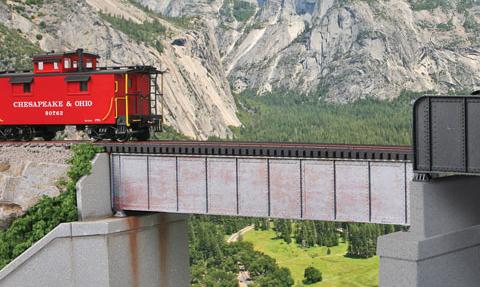 50ft Single Track Deck Girder Bridge