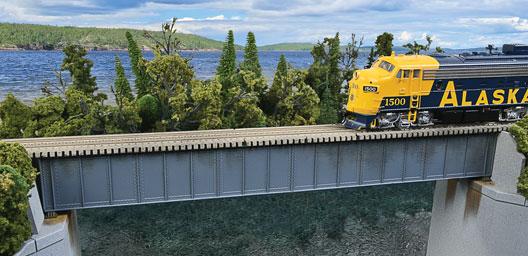 90ft Single Track Deck Girder Bridge