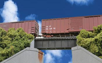 30ft Single Track Railroad Deck Girder Bridge