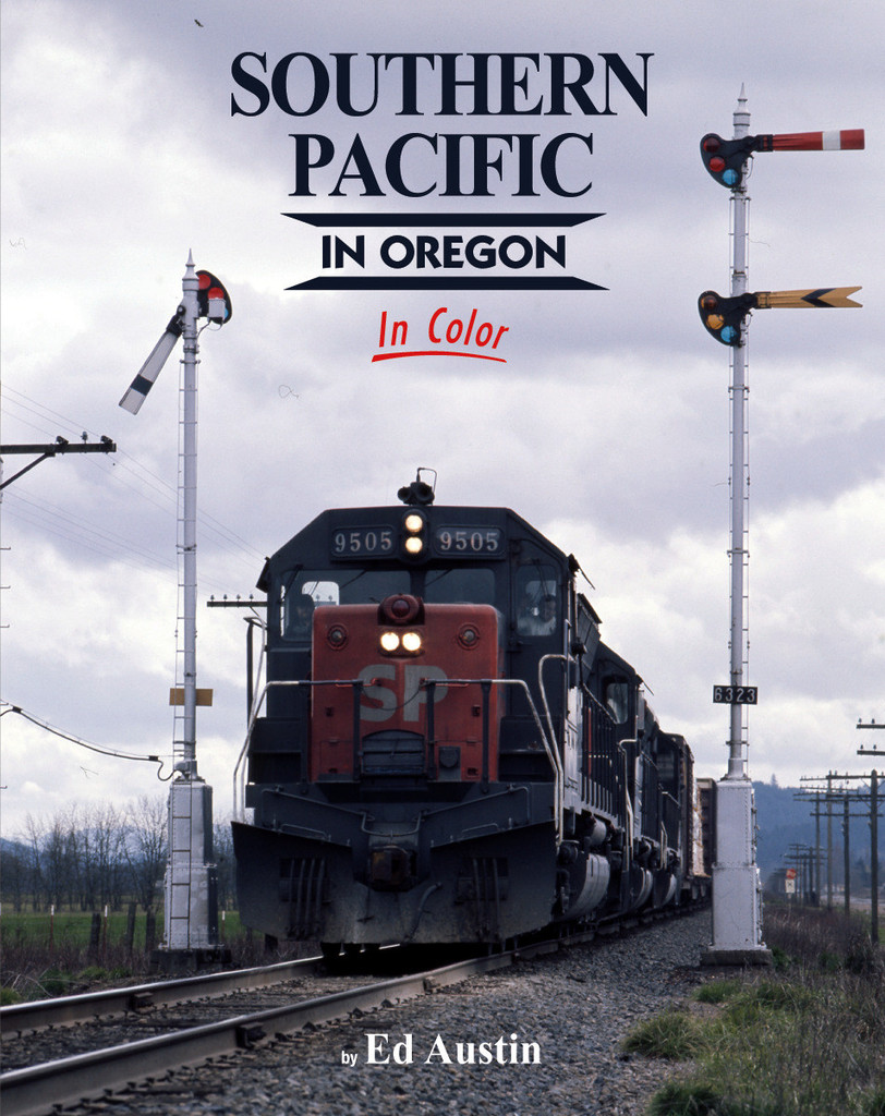 Southern Pacific in Oregon in Color