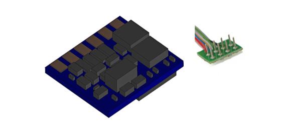 LokPilot Nano Standard, 8-pol. DCC