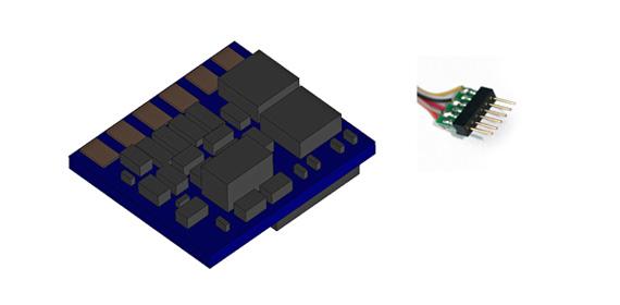 LokPilot Nano Standard, 6-pol. DCC