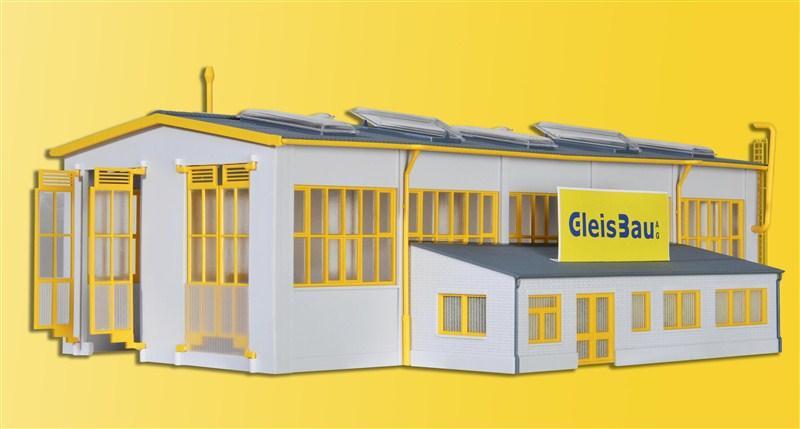 Wartungshalle GleisBau