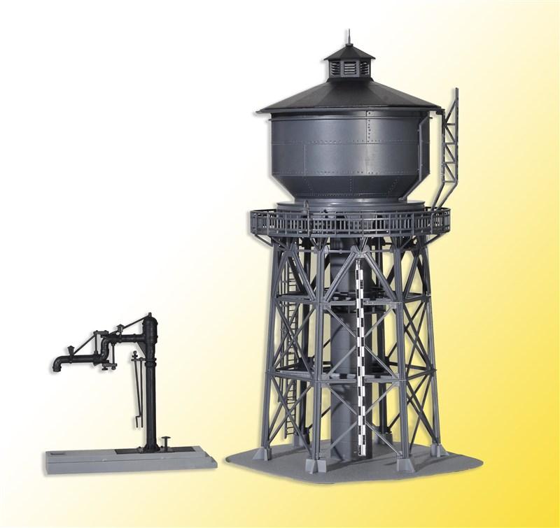 Wasserturm mit Befüllkran