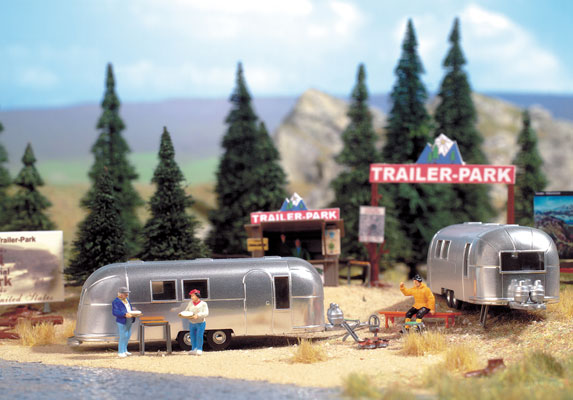 Camp Side w/two Trailers