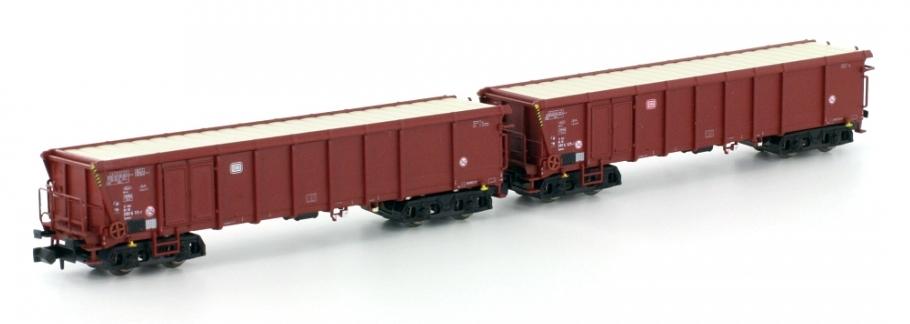 Offene Güterwagenset (2) - DB