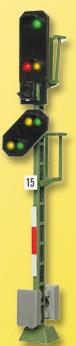 Licht-Einfahrsignal mit Vorsignal