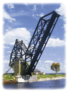 Operating Single-Track Bascule Bridge