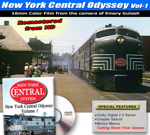 New York Central Odyssey, Vol. 1
