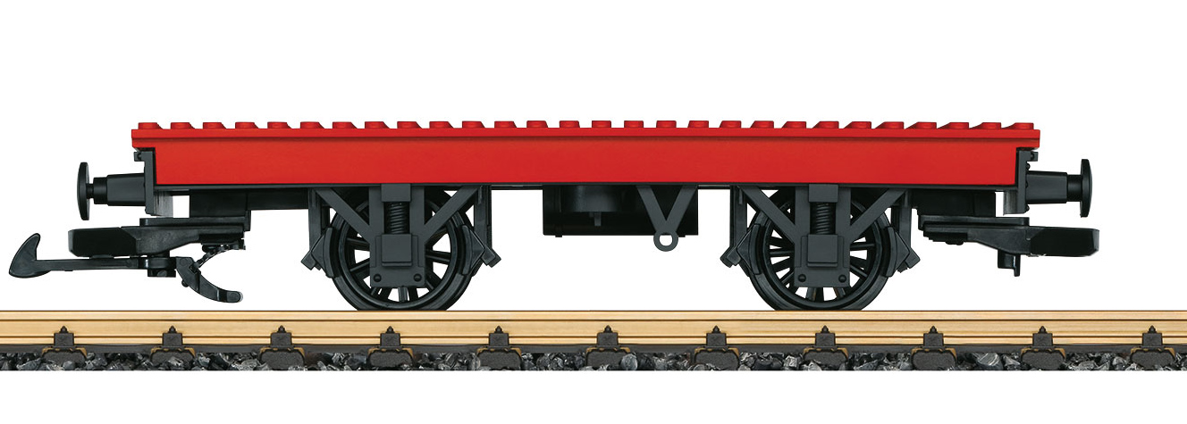 Bausteinwagen mit Klemmnoppen